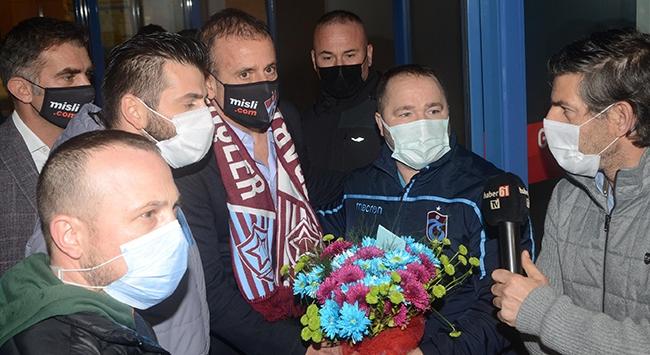 Abdullah Avcı Trabzonda coşkuyla karşılandı