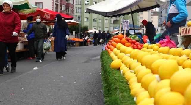 İstanbuldaki semt pazarlarında HES kodu uygulaması