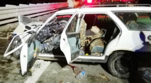 Giresunda iki araç kafa kafaya çarpıştı: 2 ölü, 2 yaralı