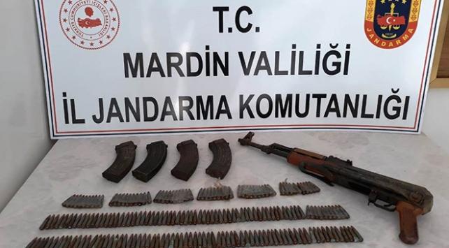 Mardinde terör operasyonu: Uzun namlulu silah ve mühimmat bulundu