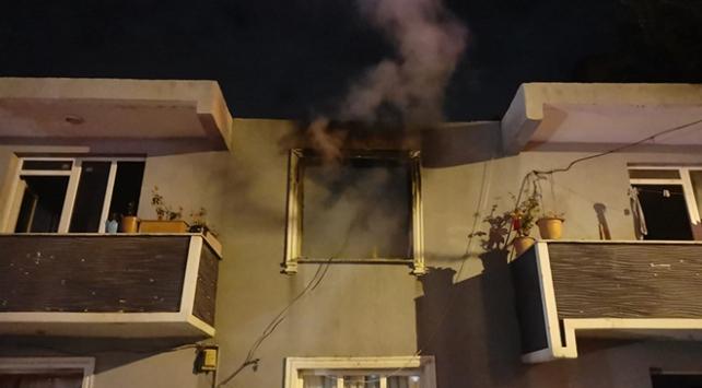 Kocaelinde yangın: Ev kullanılamaz hale geldi