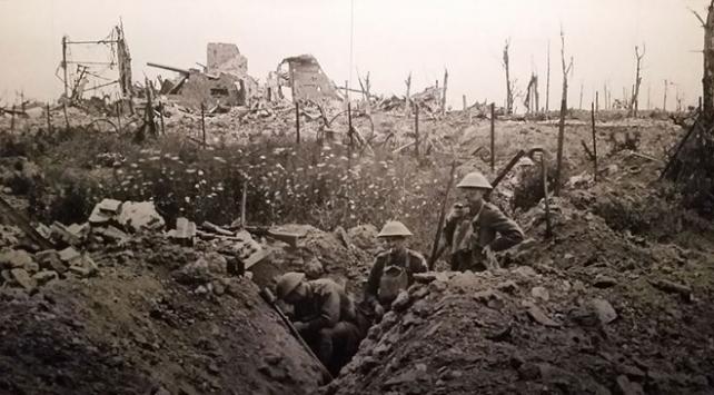 Birinci Dünya Savaşının üstünden 102 yıl geçti