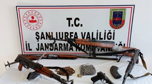 Şanlıurfada silah kaçakçılığı operasyonu: 2 tutuklama