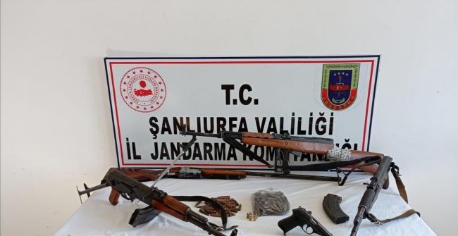 Şanlıurfada silah kaçakçılığı operasyonunda iki kişi tutuklandı