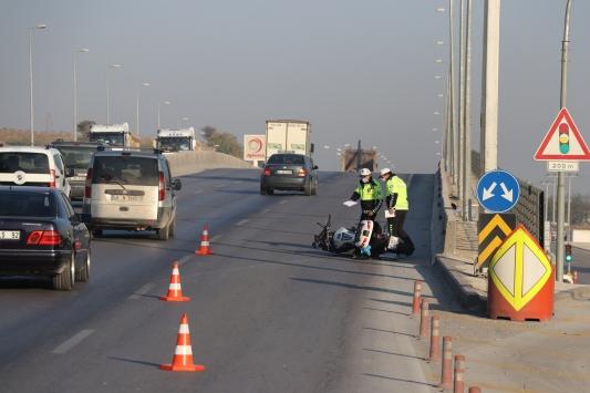 Denizlide motosikletin çarptığı kadın öldü