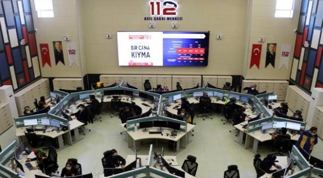 112 Acil Çağrı Merkezi vakalara ulaşma hızını artırdı
