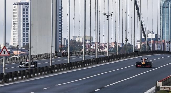 15 Temmuz Şehitler Köprüsünde Formula 1 rüzgarı