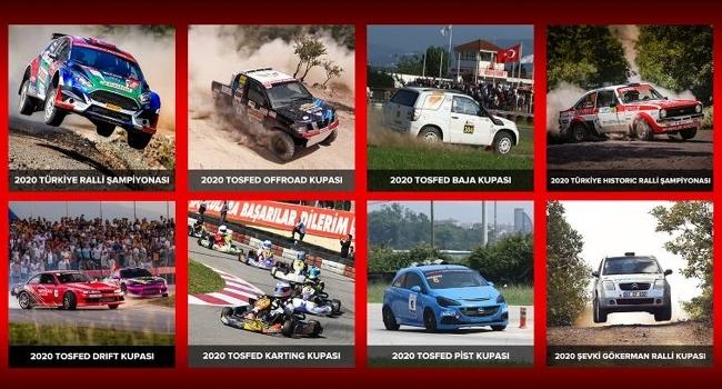 Otomobil sporlarında 2020 turnuvaları başlıyor