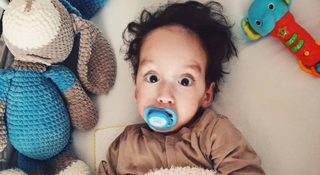 Üç büyüklerden SMA hastası Pamir bebek için yardım kampanyası