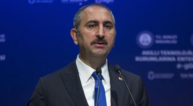 Adalet Bakanı Gül: Adalet yerini bulsun isterse kıyamet kopsun
