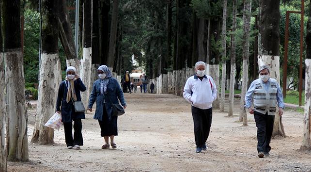 Hatayda 65 yaş ve üzeri vatandaşlara sokağa çıkma kısıtlaması