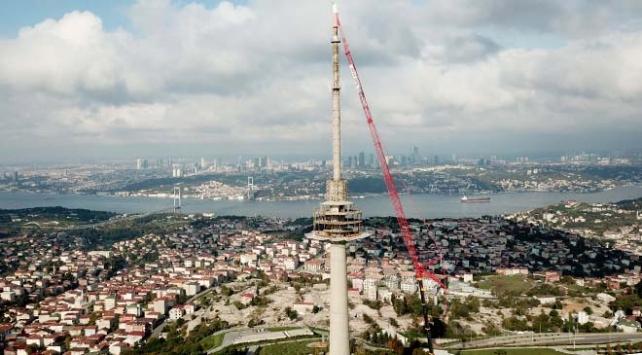 Çamlıcadaki son kulenin de sökümüne başlandı
