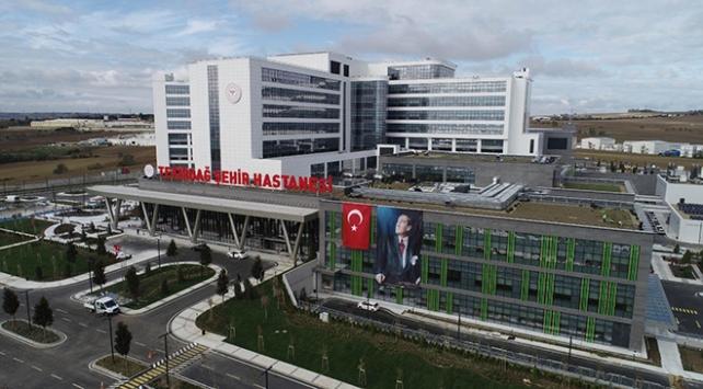 Bakan Kocadan Tekirdağ Şehir Hastanesi paylaşımı