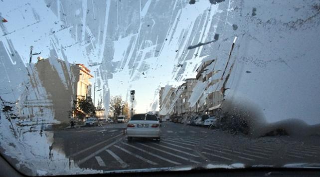 Sivasta soğuk hava etkili oluyor