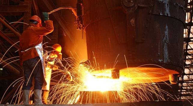 Türkiyenin sanayi üretimi arttı