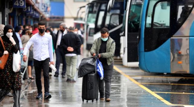 İstanbulda şehirler arası yolcu sayısı yarıdan fazla azaldı