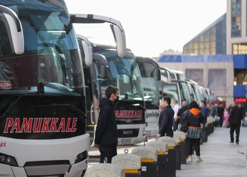 İstanbulda şehirler arası günlük otobüs sefer sayısı 700e düştü