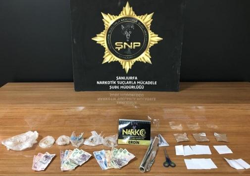 Şanlıurfada uyuşturucu operasyonunda 16 zanlı gözaltına alındı