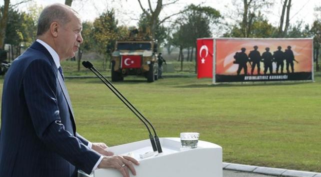Cumhurbaşkanı Erdoğan: Gazanız mübarek, zaferiniz bol olsun