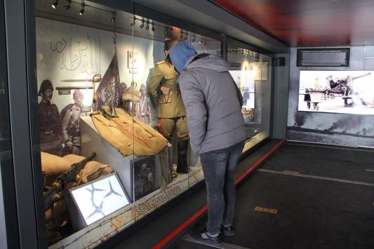 """""""Çanakkale Savaşları Mobil Müzesi"""" Malatyada kapılarını ziyaretçilere açtı"""