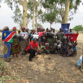 TİKAdan Namibyalı çiftçilere sıtmayla mücadelede destek