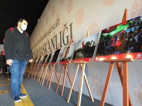 Dağlık Karabağ zaferinin fotoğrafları Konyadaki Azerbaycanlıları duygulandırdı