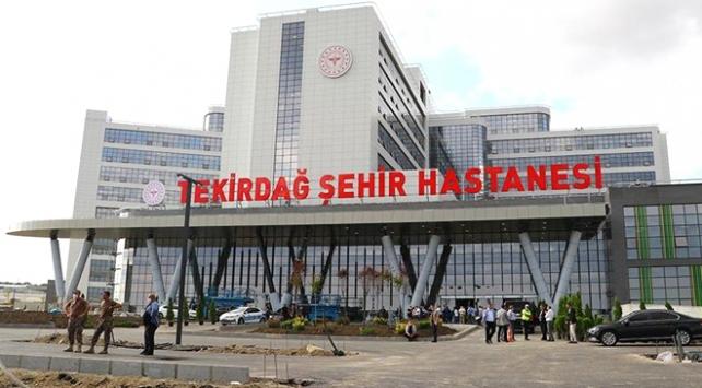 Tekirdağ Şehir Hastanesi açıldı