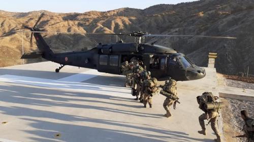 Bitlis'te Yıldırım-15 Mutki-Sarpkaya Operasyonu