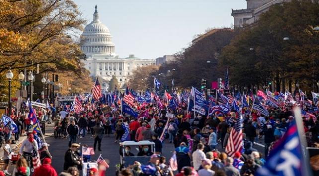ABDnin başkentinde Trumpa destek gösterisi