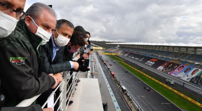 TBMM Başkanı Şentop, Formula 1 pistini inceledi