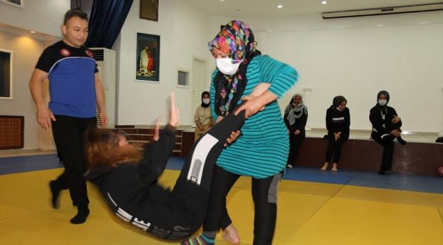 Çubukta kadınlara özel judo kursu
