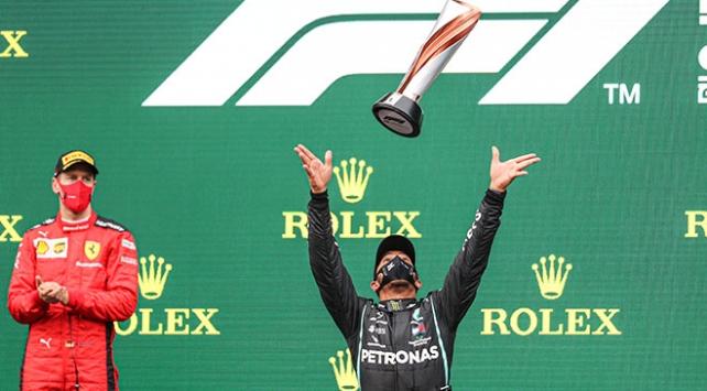 Formula 1in kazananı Hamilton oldu