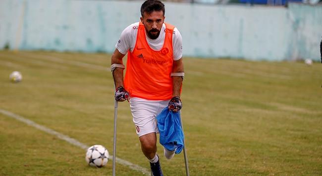 Gazi Savaş Kayanın mücadelesi ampute futbolla devam ediyor