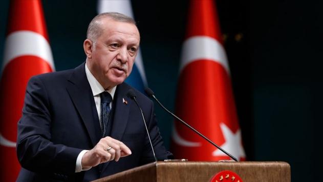 Cumhurbaşkanı Erdoğan KKTCnin 37. kuruluş yıl dönümünü kutladı