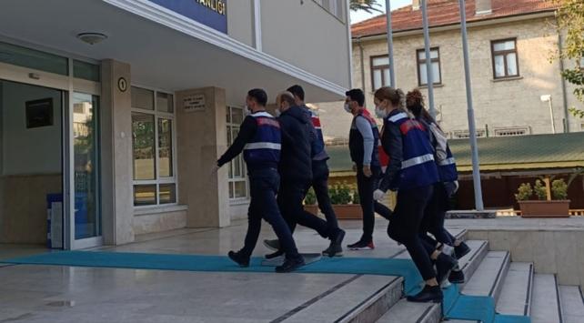 Terör örgütünün sözde sorumluları Mersinde yakalandı