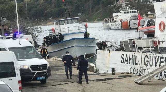 Sinop açıklarında 85 düzensiz göçmen yakalandı