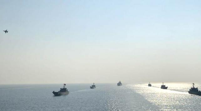 Egede kara, hava ve deniz kuvvetlerinden ortak eğitim