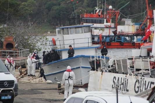 Sinoptan Romanyaya gitmek isteyen sığınmacılar teknede yakalandı