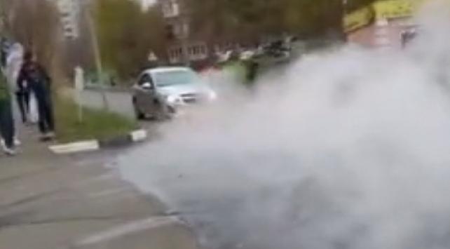 Rusyada sıcak su borusu patladı: 4 yaralı