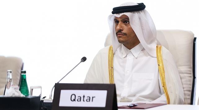 Katar Dışişleri Bakanı Al Sani: Körfez krizinin kazananı yok