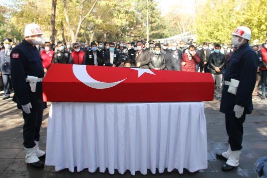Şehit Piyade Teğmen Burhan Sönmez son yolculuğuna uğurlandı