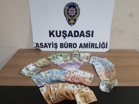Kuşadasında hırsızlık şüphelisi 2 kişi tutuklandı