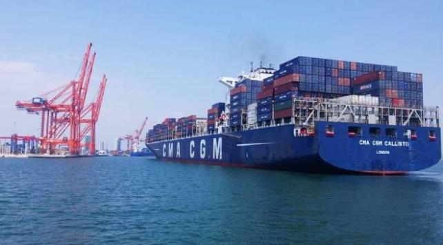 Mersin Uluslararası Limanından iş hacmi rekoru