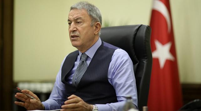 Bakan Akar: Rusya ile karşılıklı çalışmamız devam ediyor