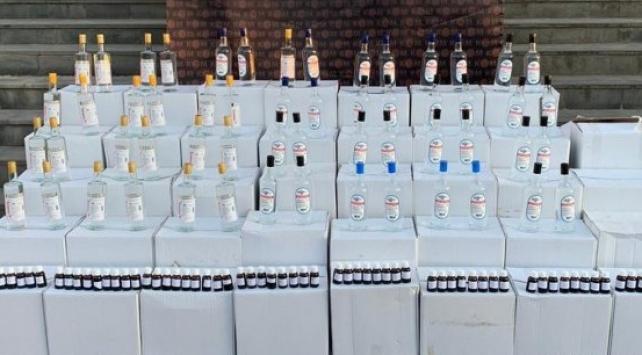 Sivasta 1620 litre etil alkol ele geçirildi