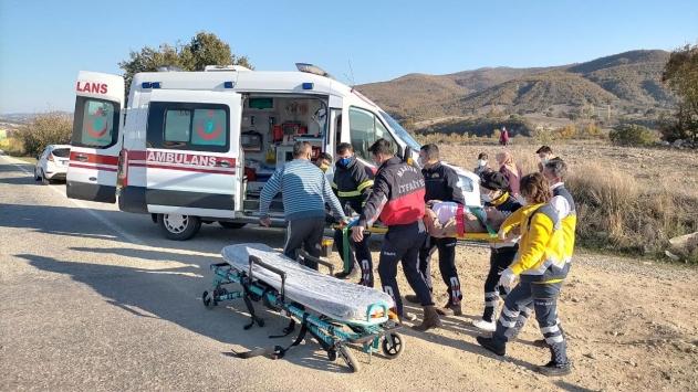 Demircide trafik kazası: 1 yaralı