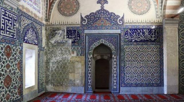 Selimiye Camiinin çinileri Rusyadan getirilecek