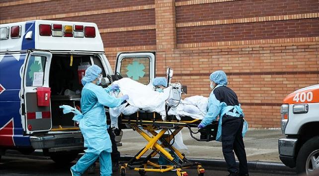 ABDde 856 kişi daha koronavirüsten öldü