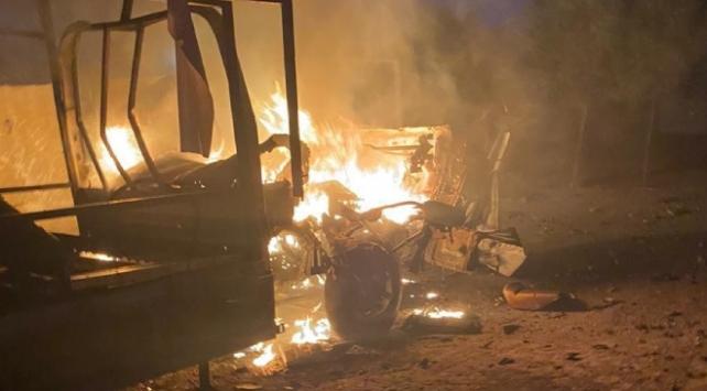 Bağdata füzeli saldırı: 1 ölü, 5 yaralı