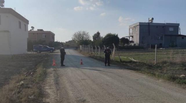 Adanada bir sokak karantinaya alındı